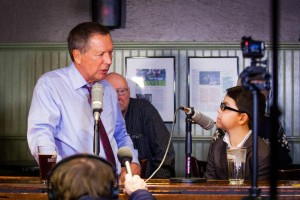 Governor Kasich and up and coming journalist, Ryder Fisk